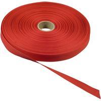 [NORDIC Brands] Bomullsband 50mx13mm röd